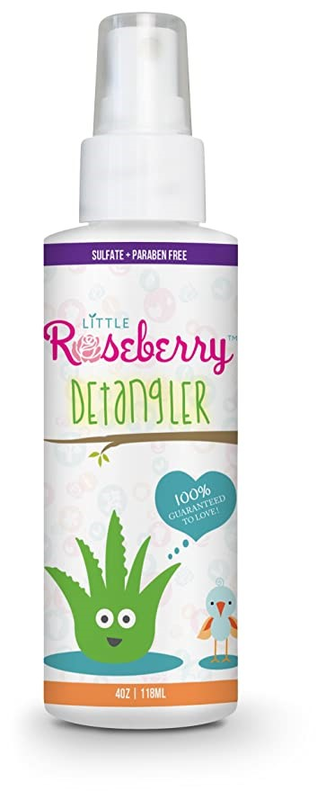 Little Roseberry Hair Detangler Spray For Kids